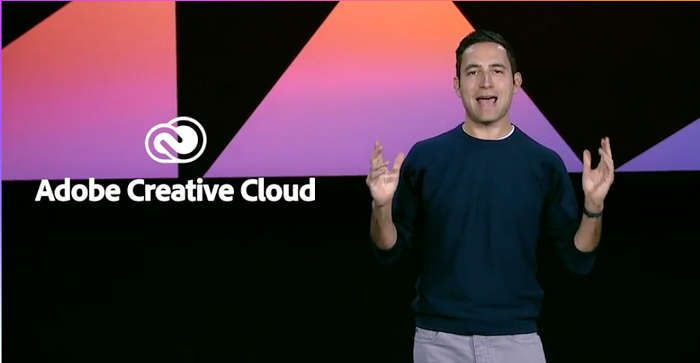 Adobe Chief Product Officer and EVP, Creative Cloud Scott Belsky(スコット ベルスキー)氏