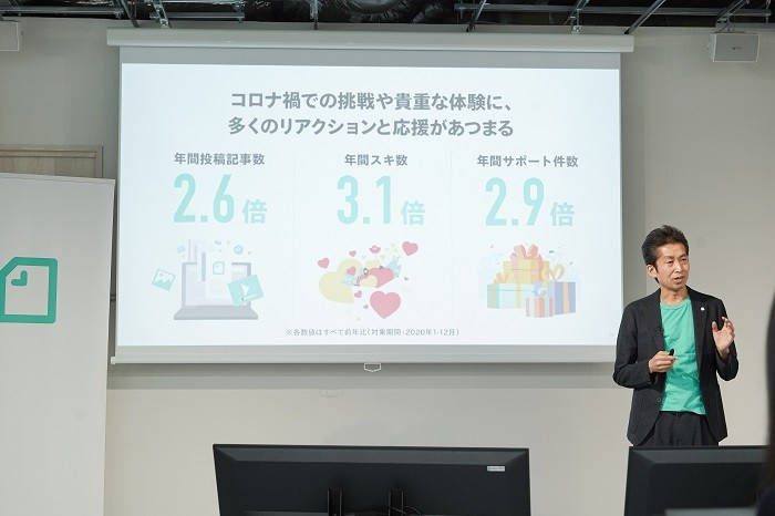 note株式会社 代表取締役 CEO 加藤貞顕さん