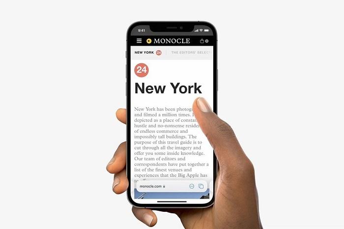 出典:Appleプレスリリース「iOS 15が、つながりを保つ新しい方法や、デバイス上の知能を使い、ユーザーの集中を助けたり、探索したり、さらにいろいろなことができるパワフルな機能を提供」